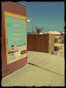 barcelona playa nuevas tecnologias